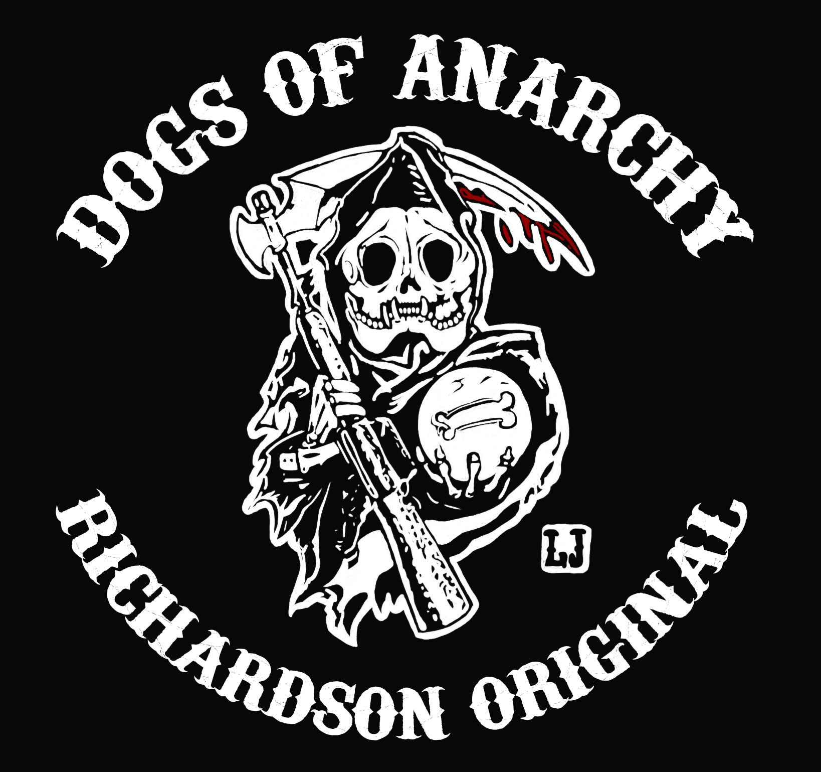 Dogs of Anarchy leather vest