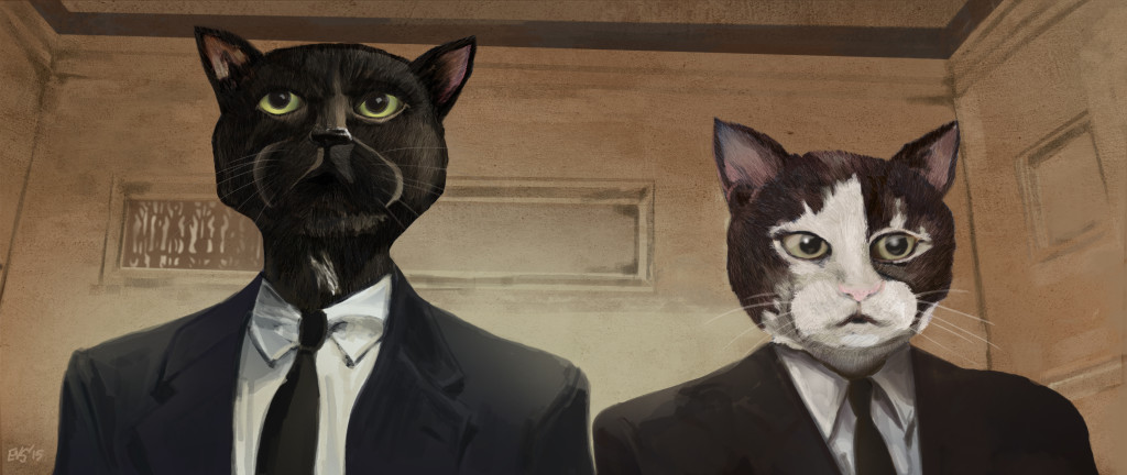 Vincent and Jules - cats on a mission
