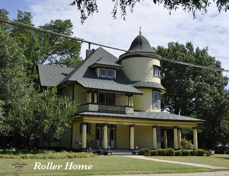 Roller Home Plano, Texas -photo: Eric VanSingel