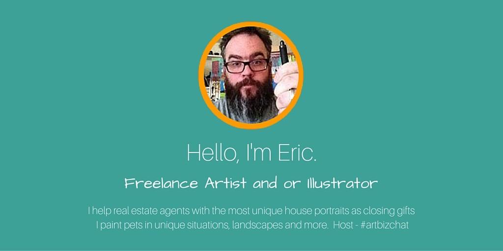 Hello, I'm Eric.